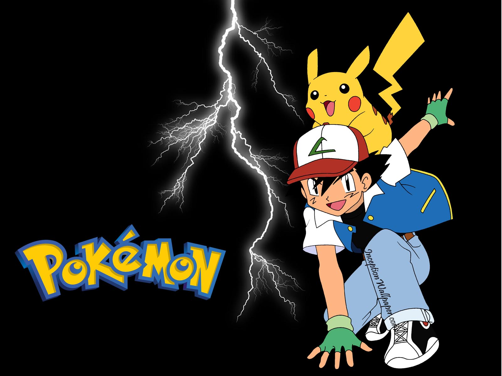Pokemon Wallpaper Pikachu And Ash 1600x1200