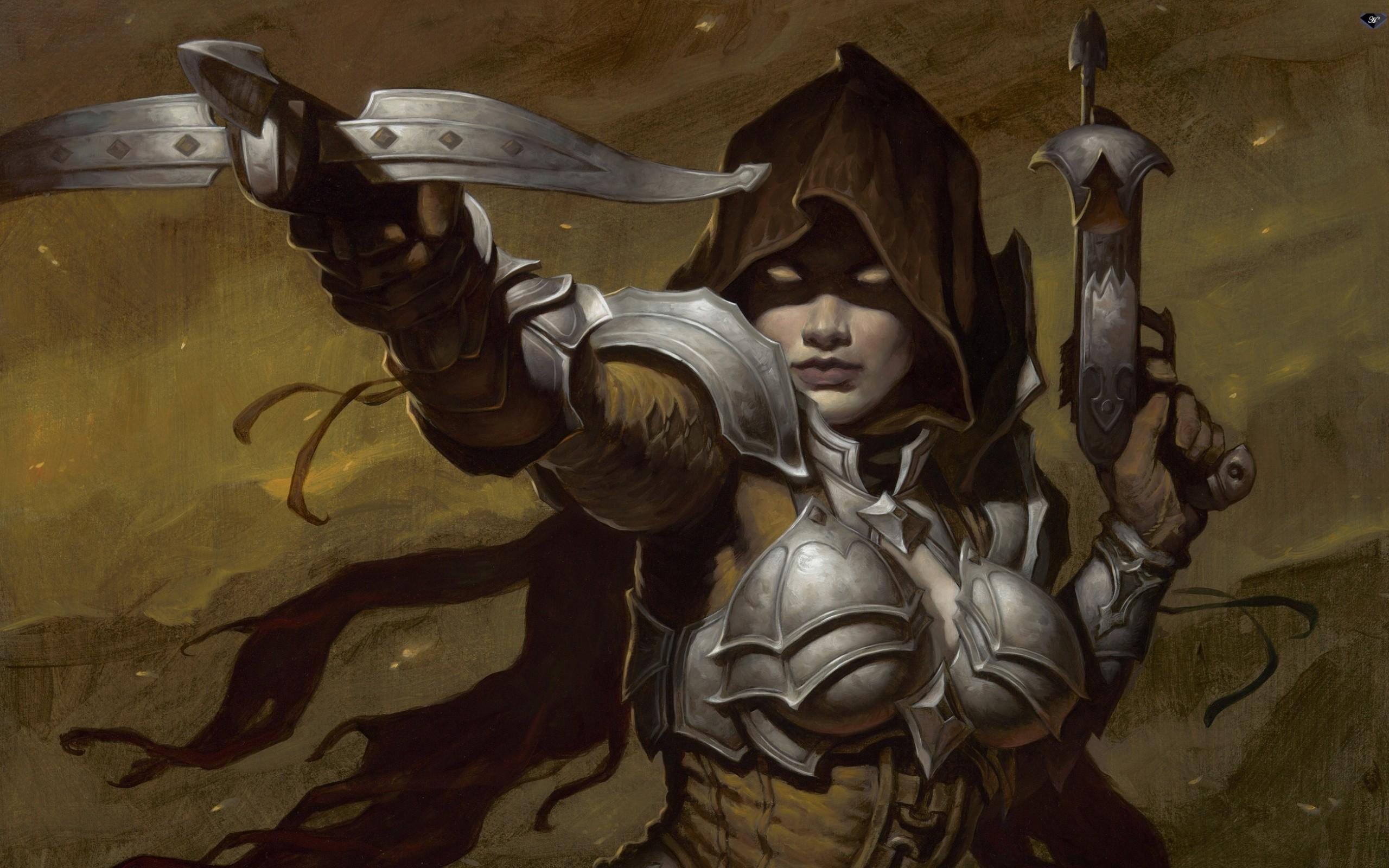 Female Assassin Diablo 3 wallpaper   ForWallpapercom 2560x1600