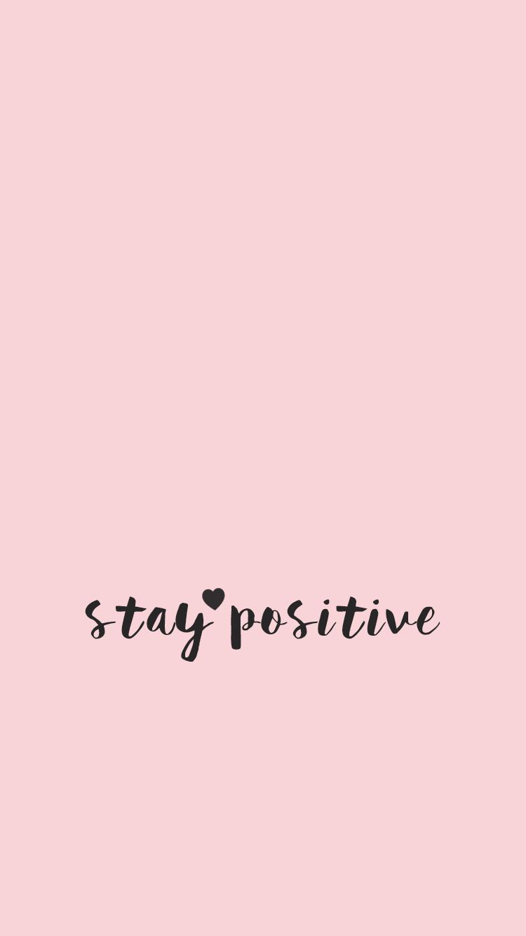 Wallpaper minimal quote quotes inspirational pink girly 750x1334