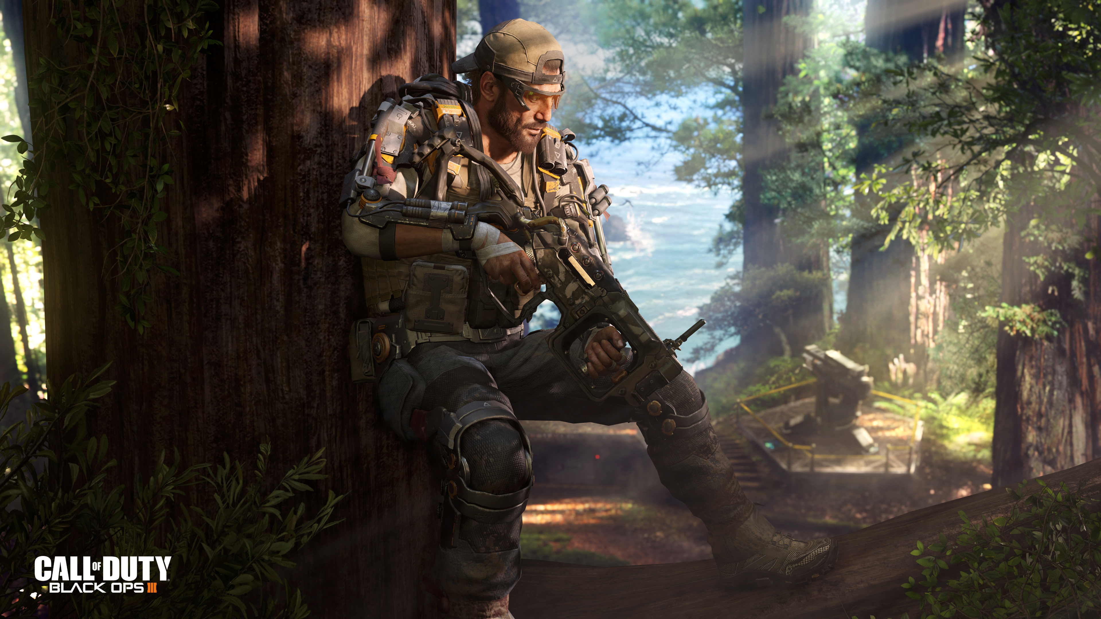 Call of Duty Black Ops 3 Specialist Nomad Wallpapers HD Wallpapers 3840x2160