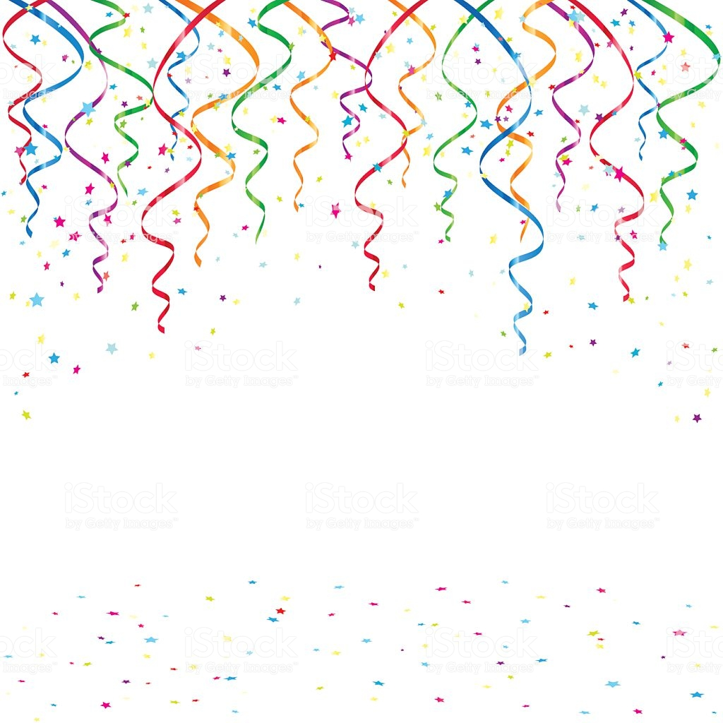 Birthday Background With Tinsel And Confetti stock vector 1024x1024