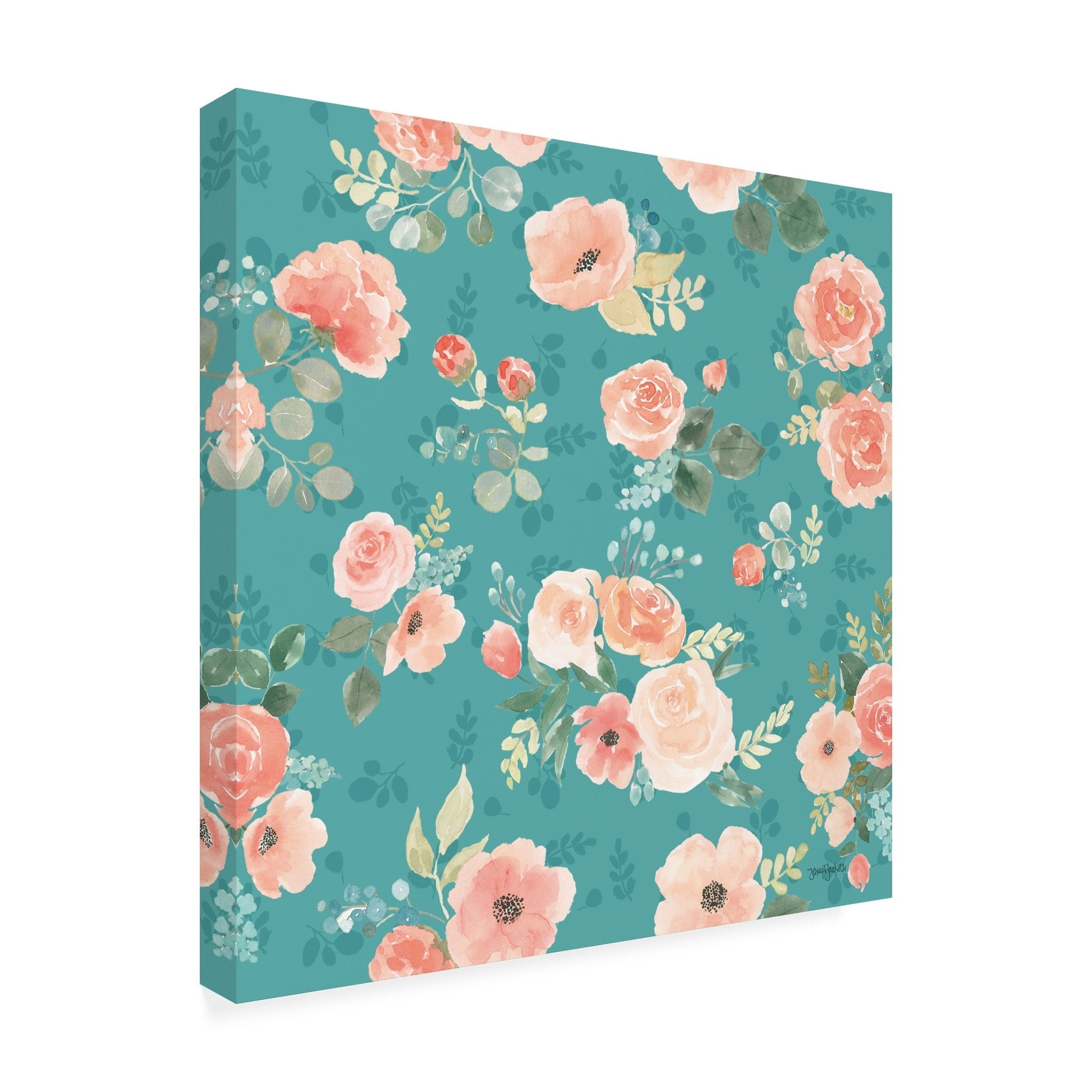Shop Jenaya Jackson Blooming Delight Pattern IC Canvas Art 2000x2000