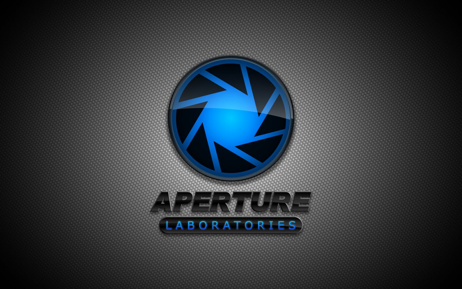 Portal 2 HD Logo Desktop Wallpapers Download Wallpapers in HD for 1600x1000