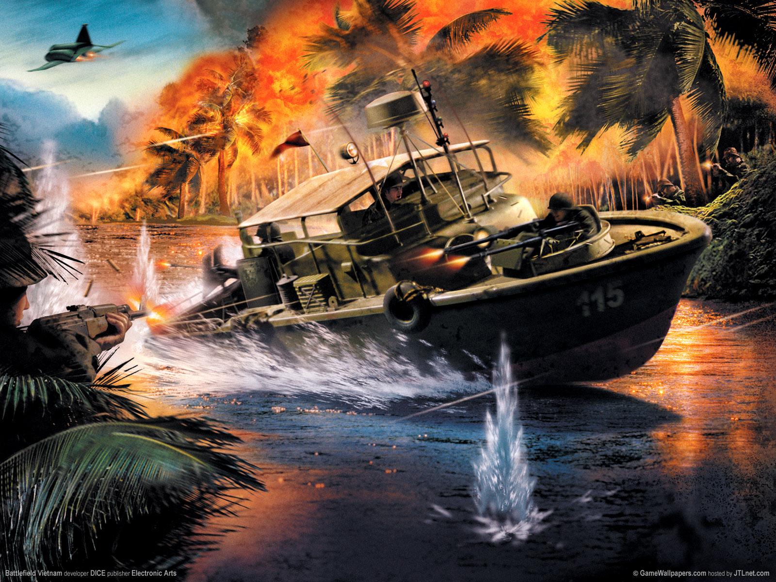 1600x1200 Battlefield Vietnam desktop PC and Mac wallpaper 1600x1200