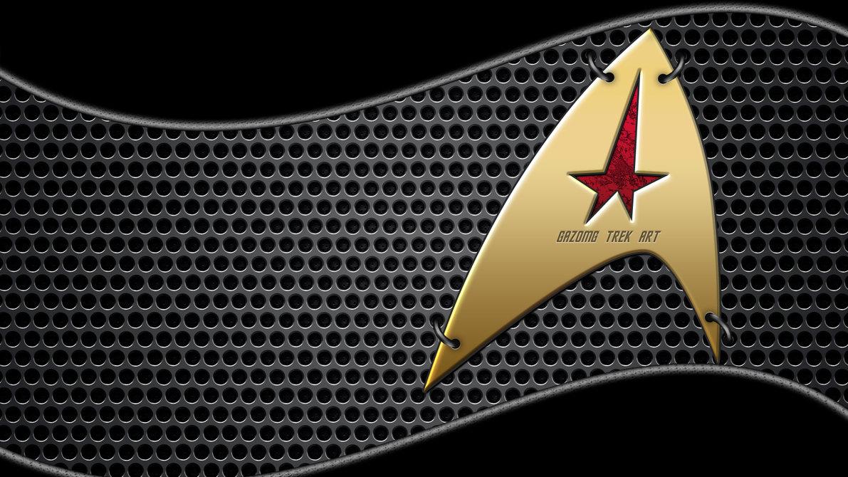 starfleet logo wallpaper wallpapersafari