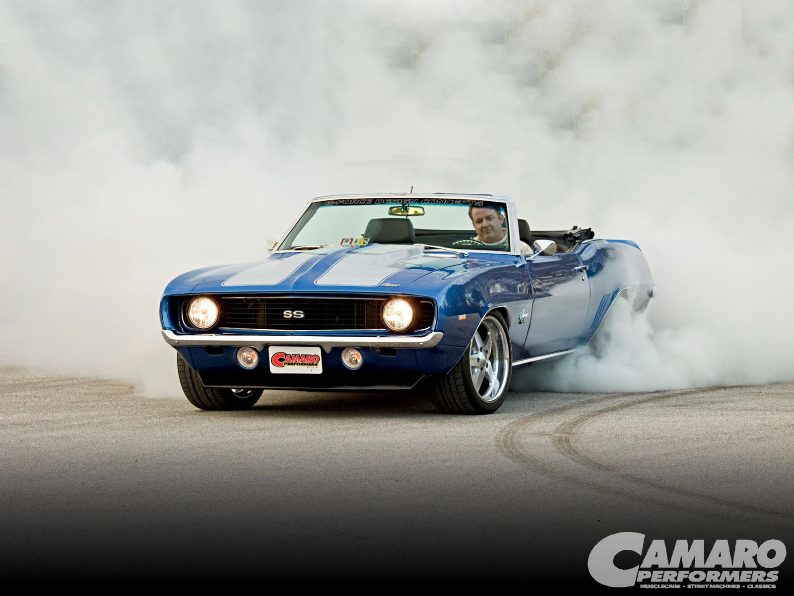 [50+] Camaro Burnout Wallpaper on WallpaperSafari