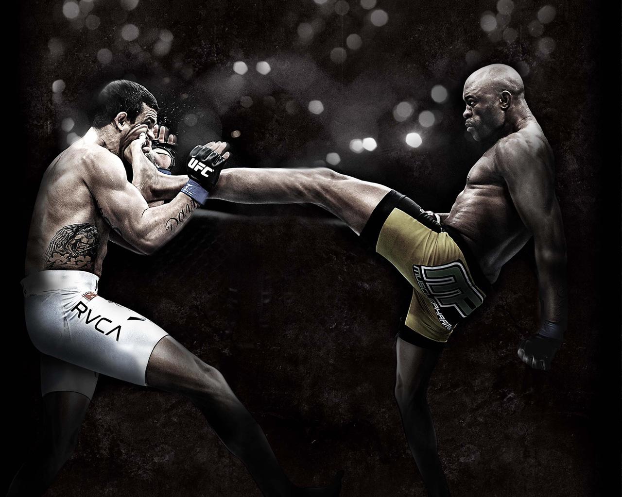 ufc ultimate fighting championship mma mixed martial arts wallpaper 1280x1024