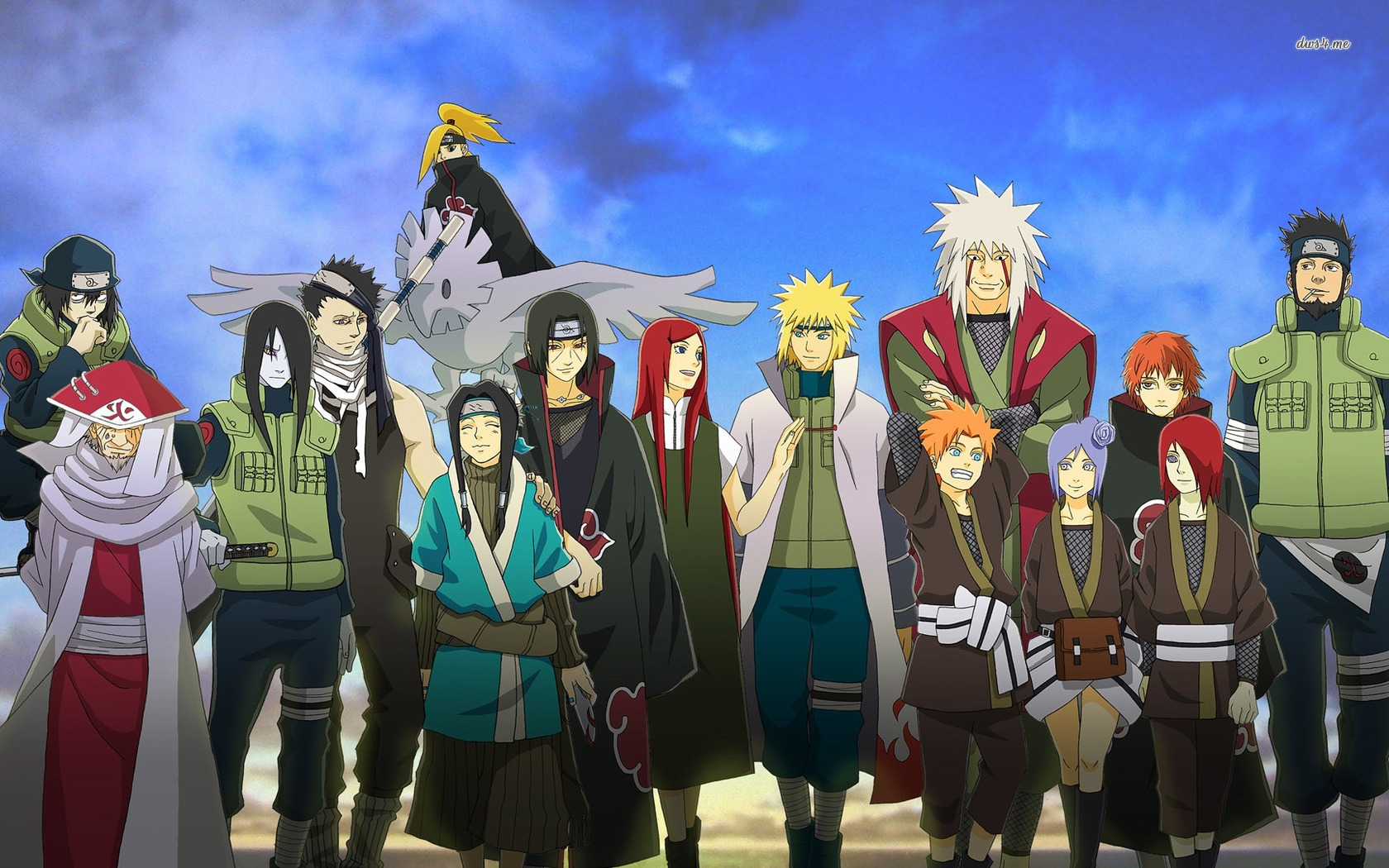 Naruto Characters Wallpapers - WallpaperSafari