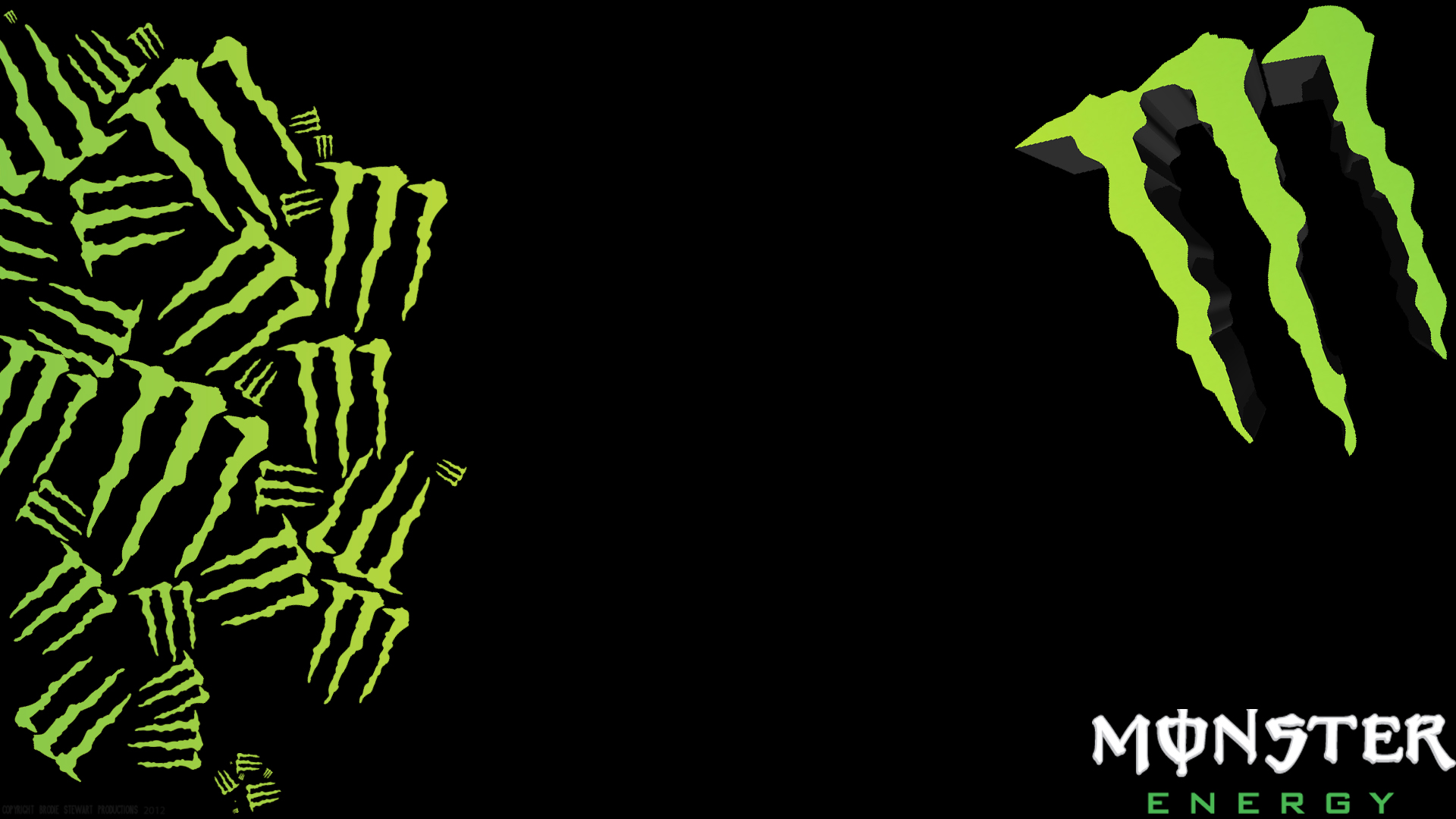 blue monster energy logo wallpaper wallpapersafari