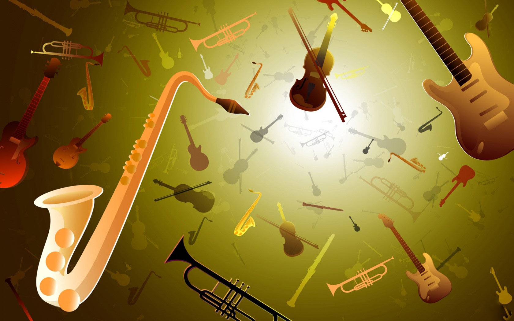Wallpapers Hd 3d Music: 3D Jazz Music Wallpapers