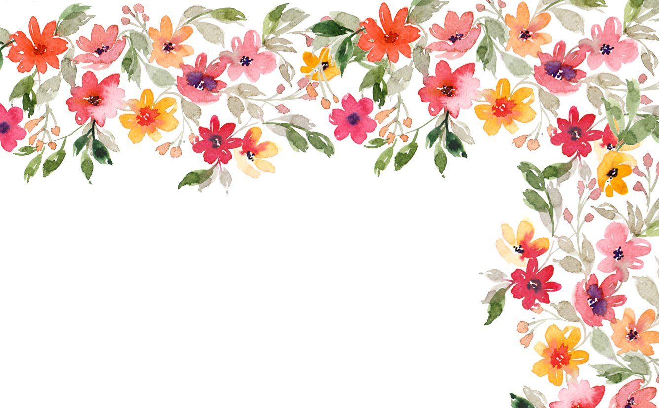 Free Download Floral Wallpaper Computer Wallpaper Watercolor