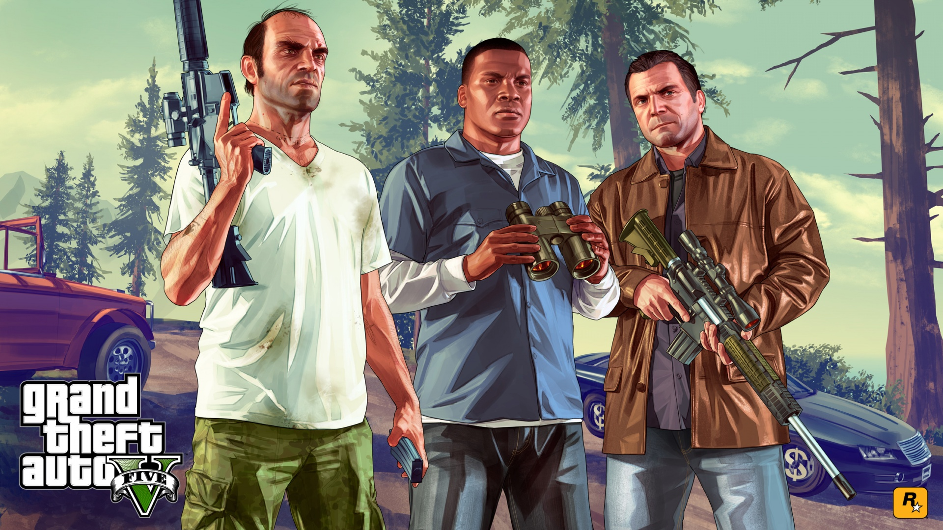 Grand Theft Auto GTA 5 Wallpapers HD Wallpapers 1920x1080