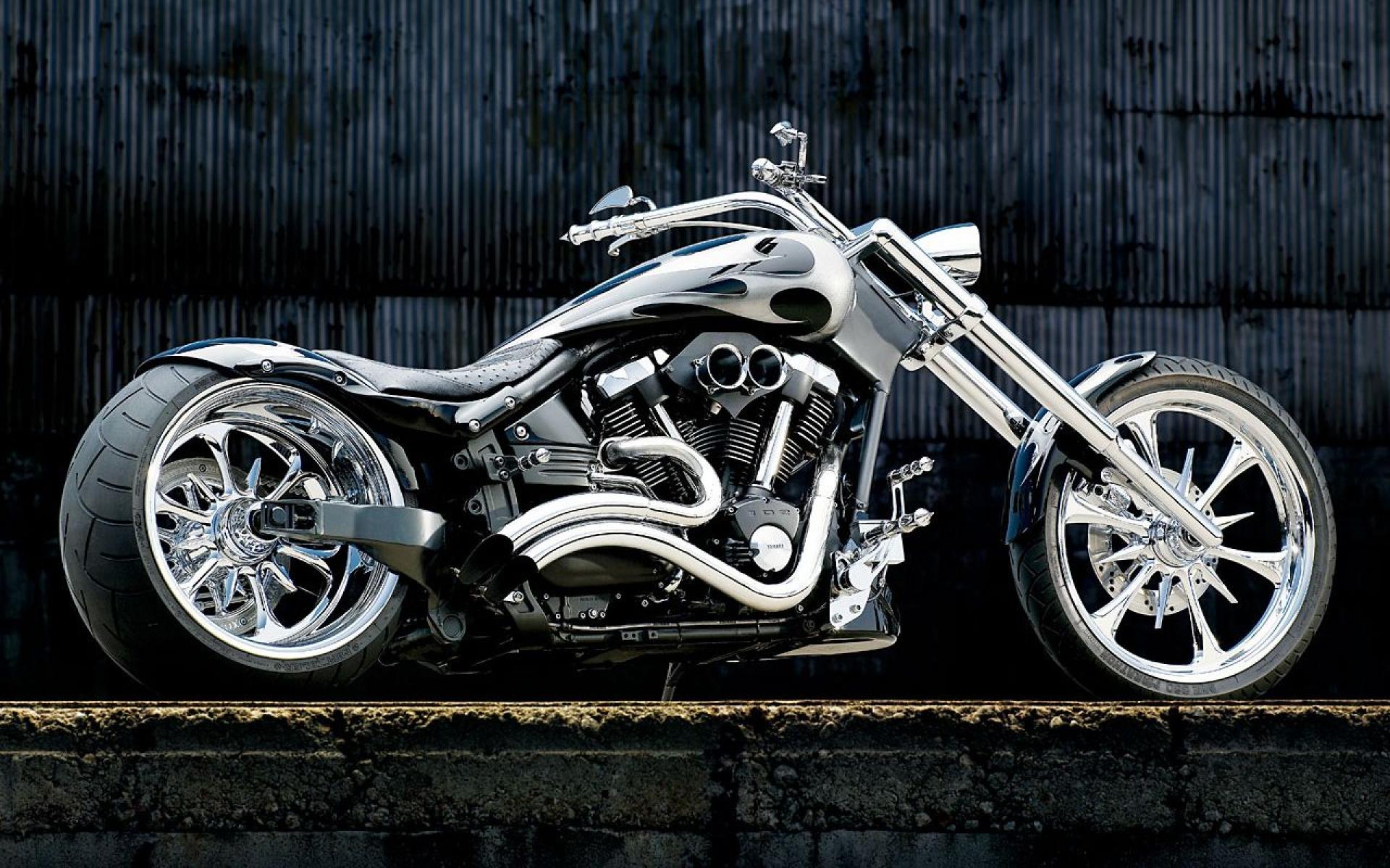 Motorcycle  Wallpapers bestscreenwallpapercom Yamaha Chopper 1920x1200