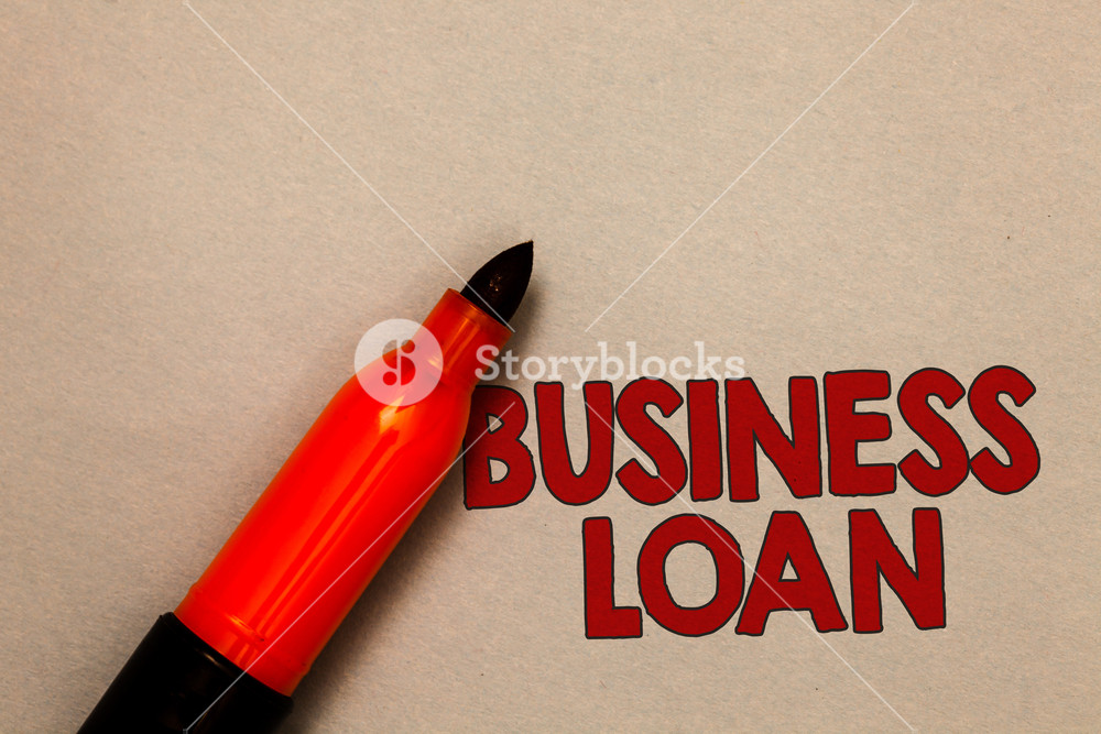 Word writing text Business Loan Business concept for Credit 1000x667