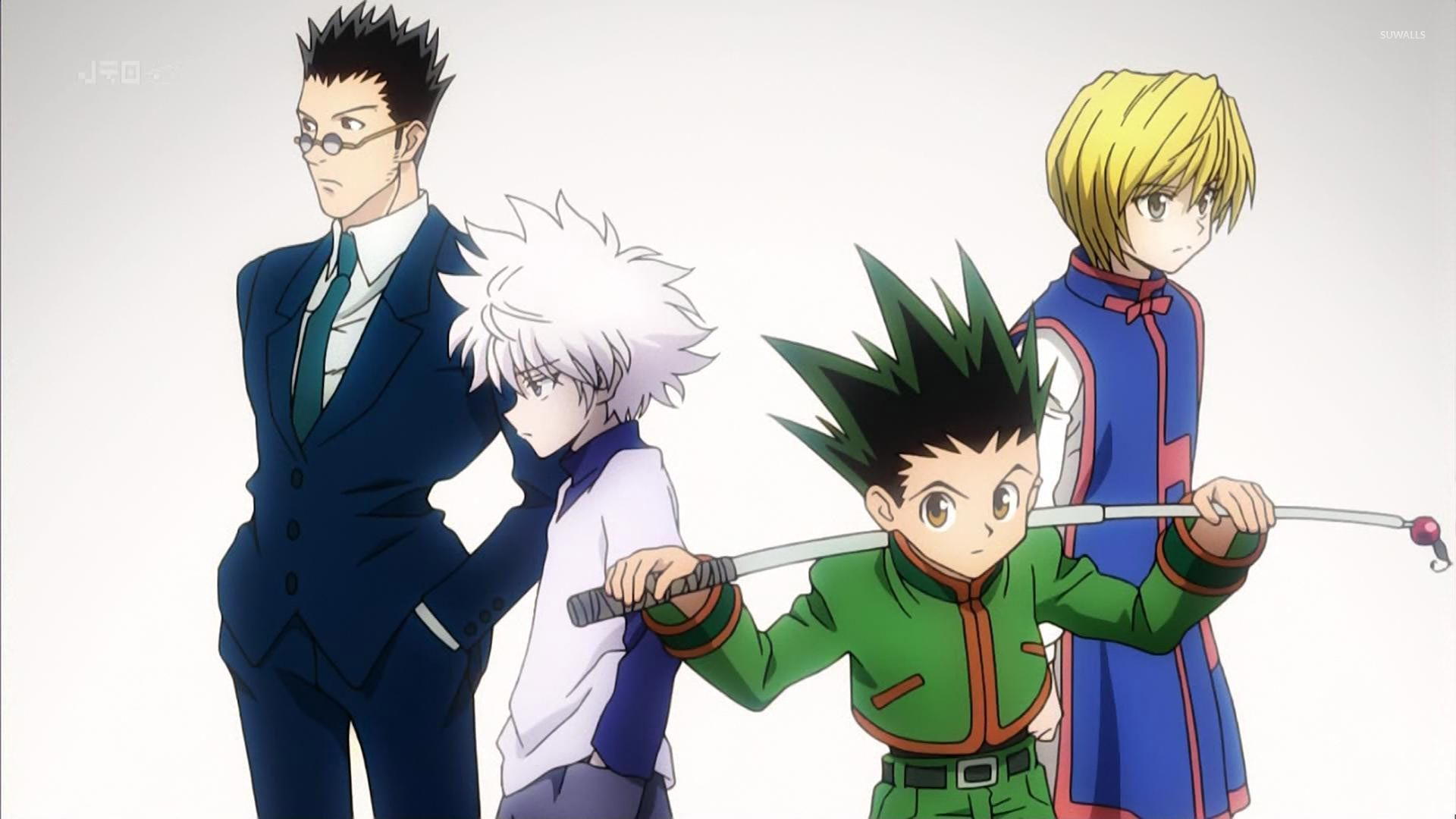 50 Wallpaper Hunter X Hunter On Wallpapersafari