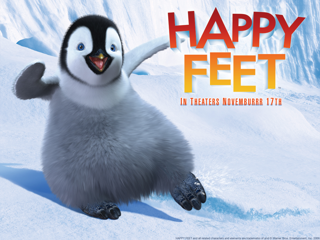 Happy Feet Wallpaper 1024x768