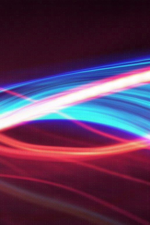 Colorful Neon Lights iPhone HD Wallpaper 516x774