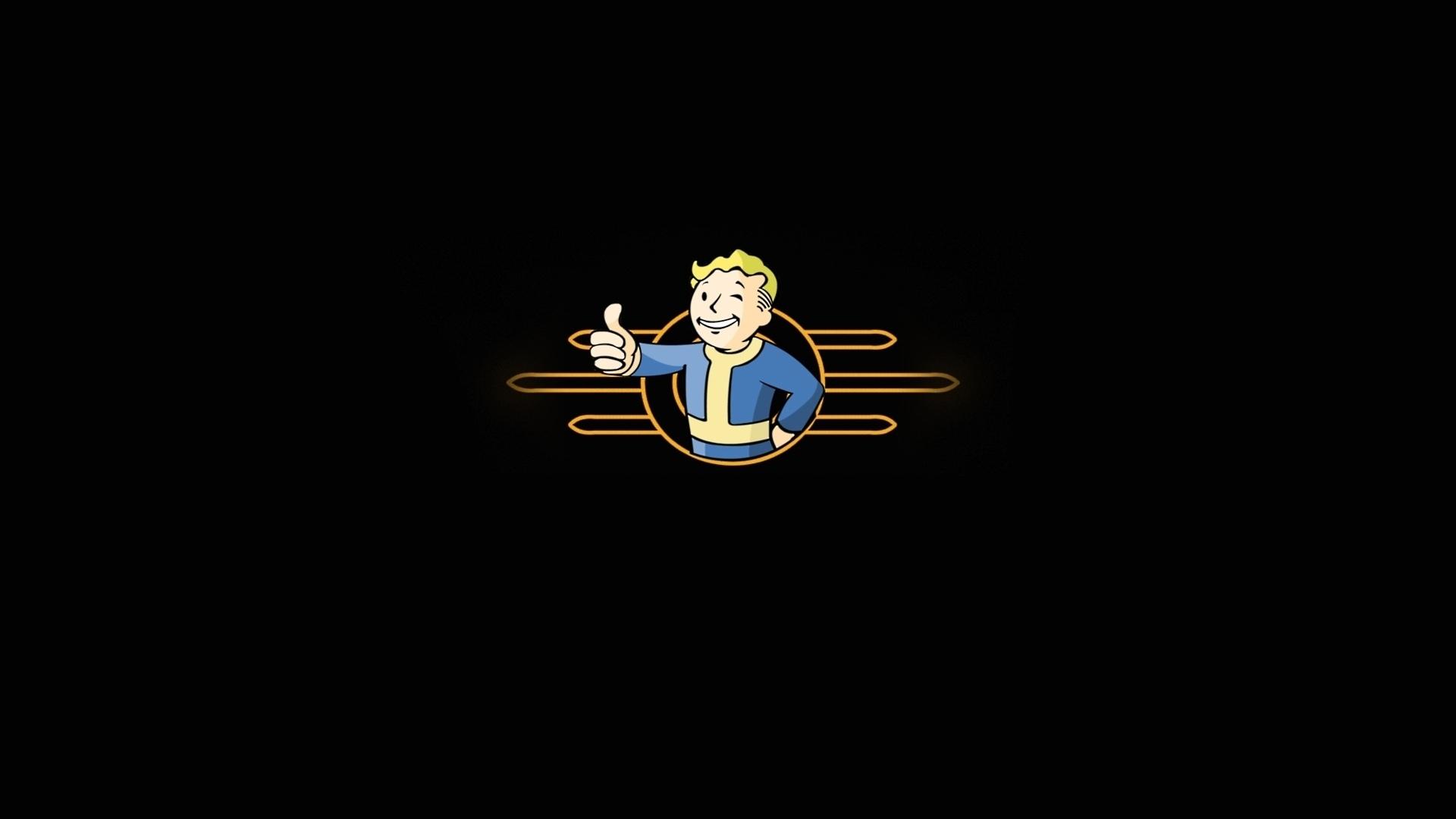 Fallout Vault Logo Fallout 3 Vault Boy Wallpaper 1920x1080