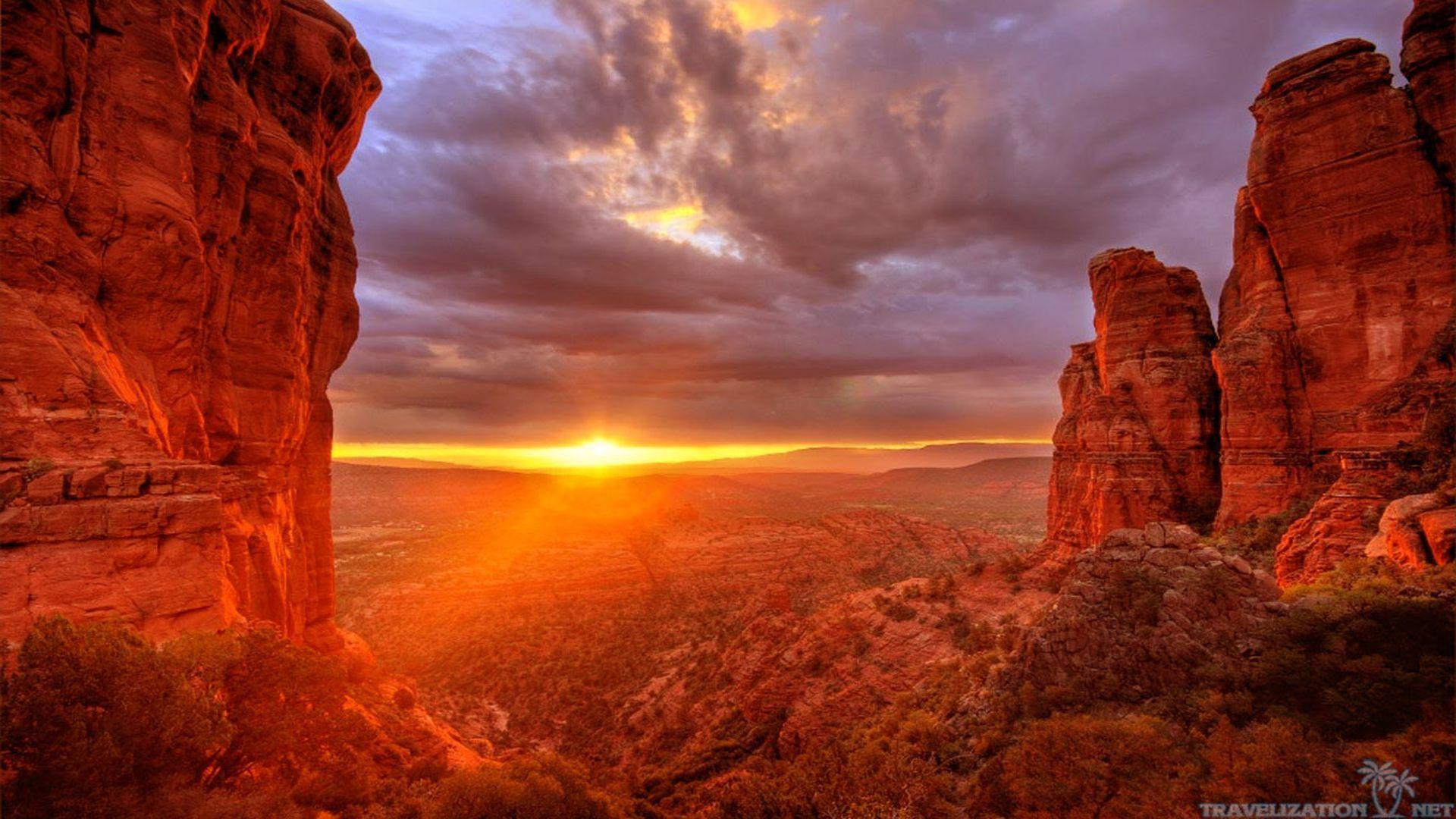 Arizona Sunset Pictures wallpaper 1920x1080 79403 1920x1080