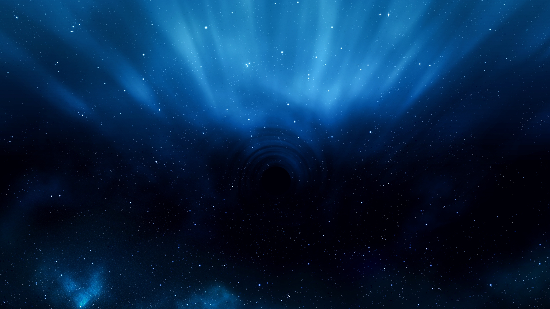 Blue space wallpaper wallpapersafari - Abstract space wallpaper ...