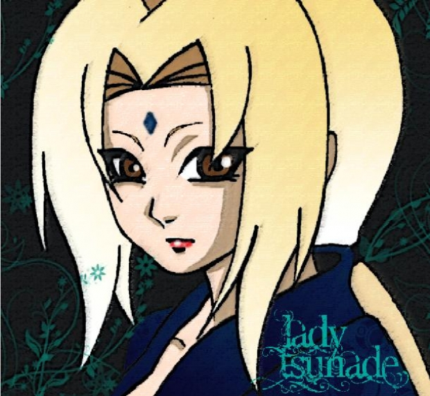 Lady Tsunade by Phuonggt 620x571