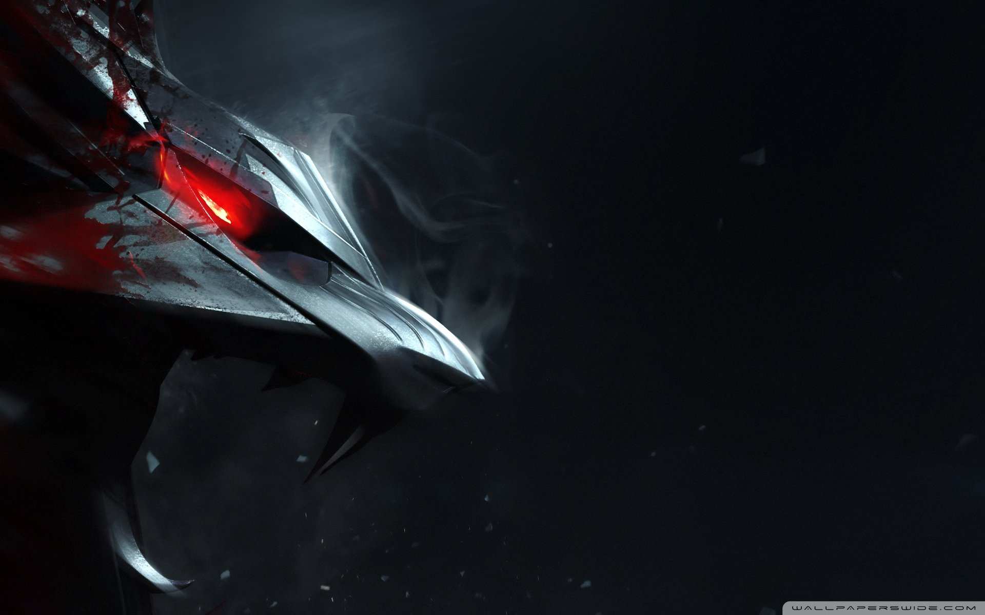 Tags Witcher   wolf wallpaper 1920x1200 1920x1200