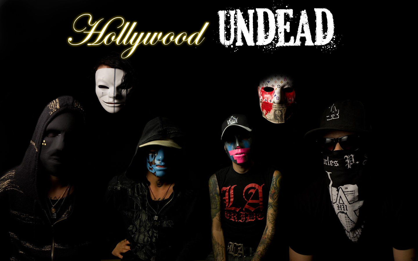 Go Back Gallery For Hollywood Undead Wallpaper Logo 1440x900