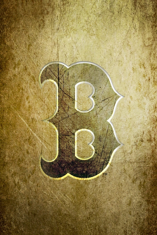 Boston Red Sox Logo HD Wallpaper for iphone 4iphone 4S 640x960