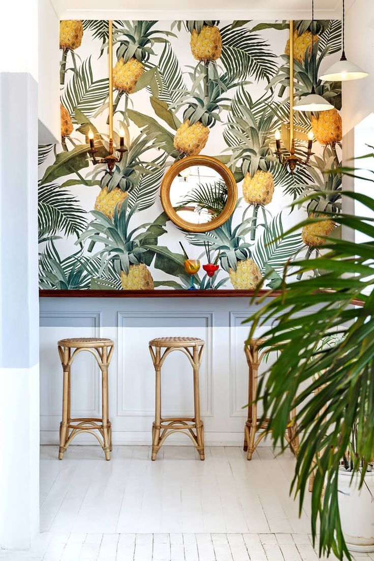 Balearic bliss and retro tropical aesthetics inform a beach side 736x1104