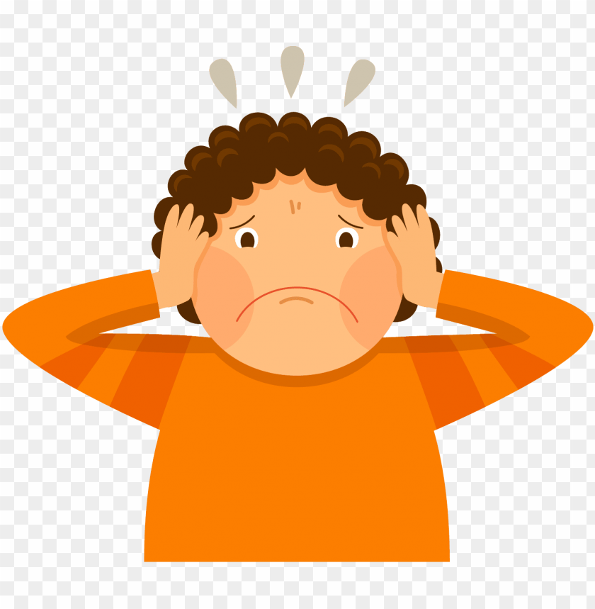 anxious child   parents fighting clipart PNG image with 840x859