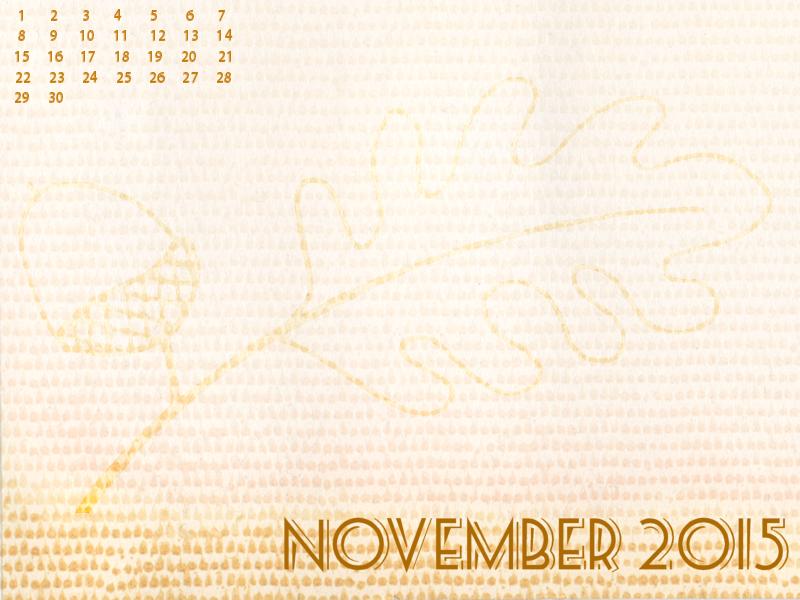 November 2015 Desktop Mobile Wallpaper freebie | Plucky's Second ...