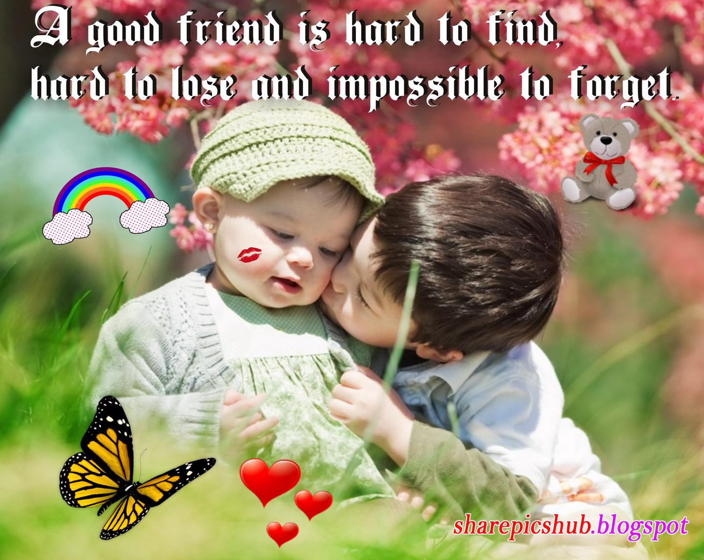 Beautiful Friendship Quote Wallpaper For Facebook A Good Friend is 1440x1146