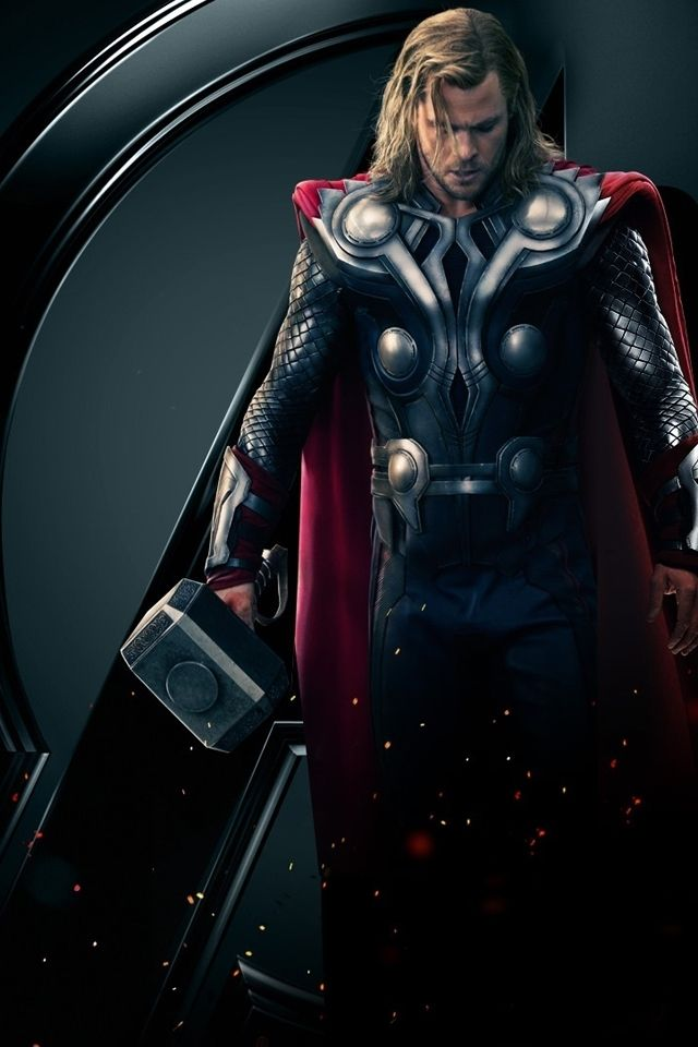 Marvel Thor iPhone Wallpaper Fan Art   Wallpapers   iPhone 640x960