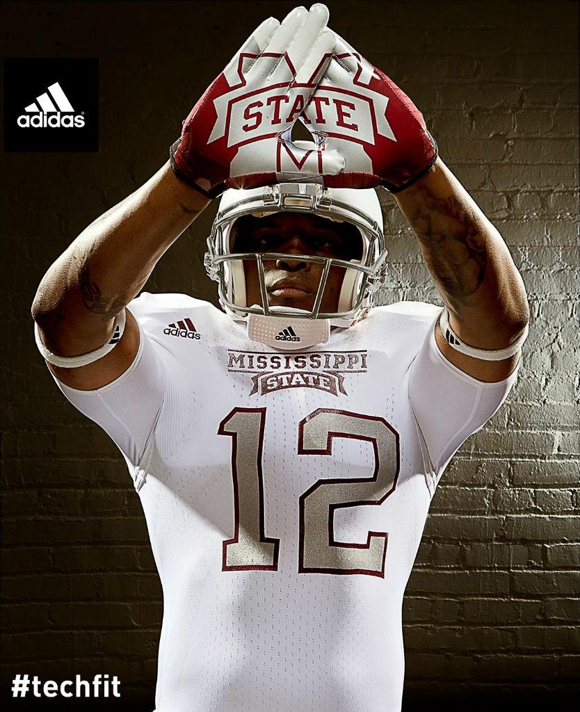 Mississippi State Bulldogs adidas Snow Bowl TECHFIT Uniforms 3 834x1024