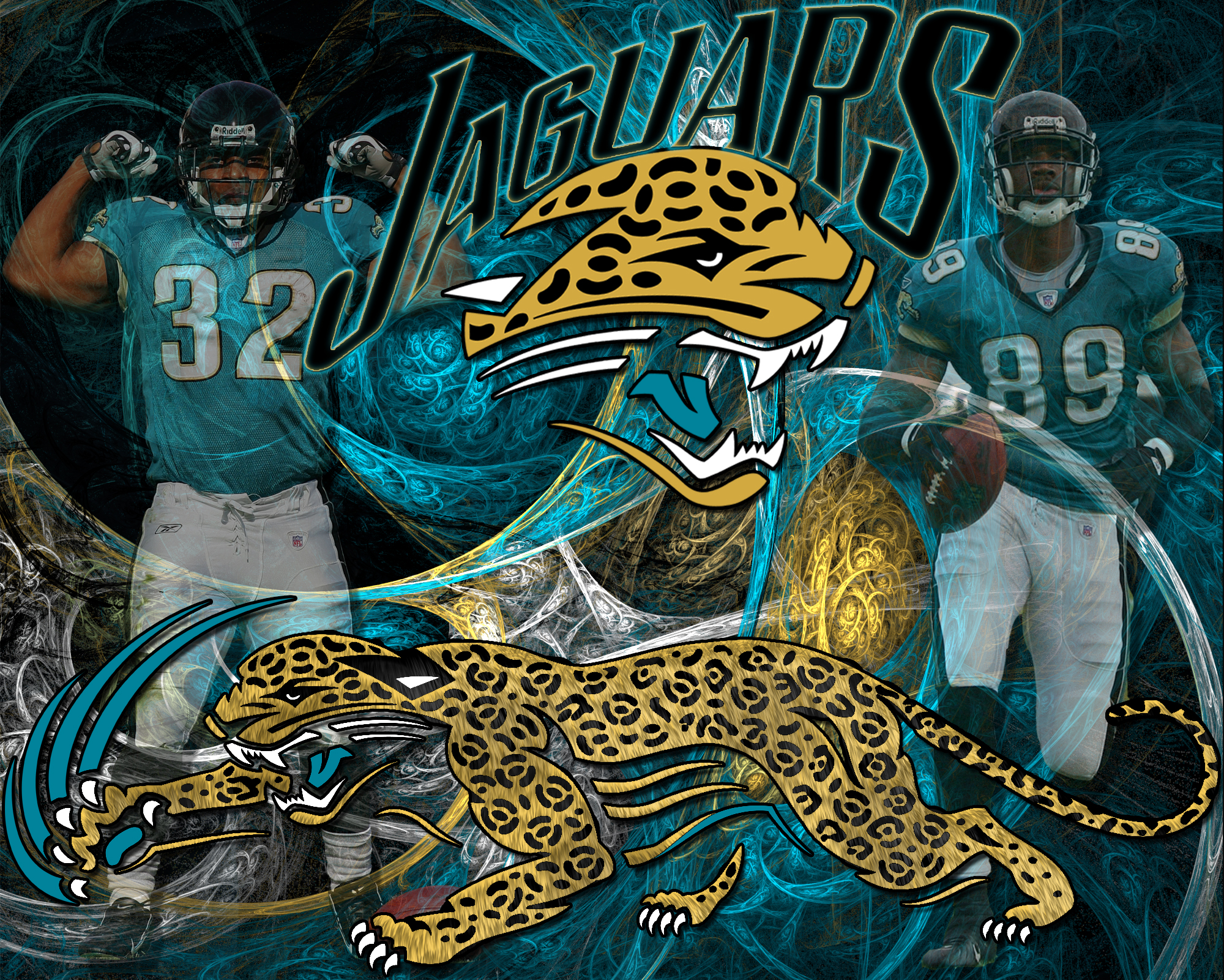 Wallpapers By Wicked Shadows Jacksonville Jaguars Wicked Wallpaper 2000x1601