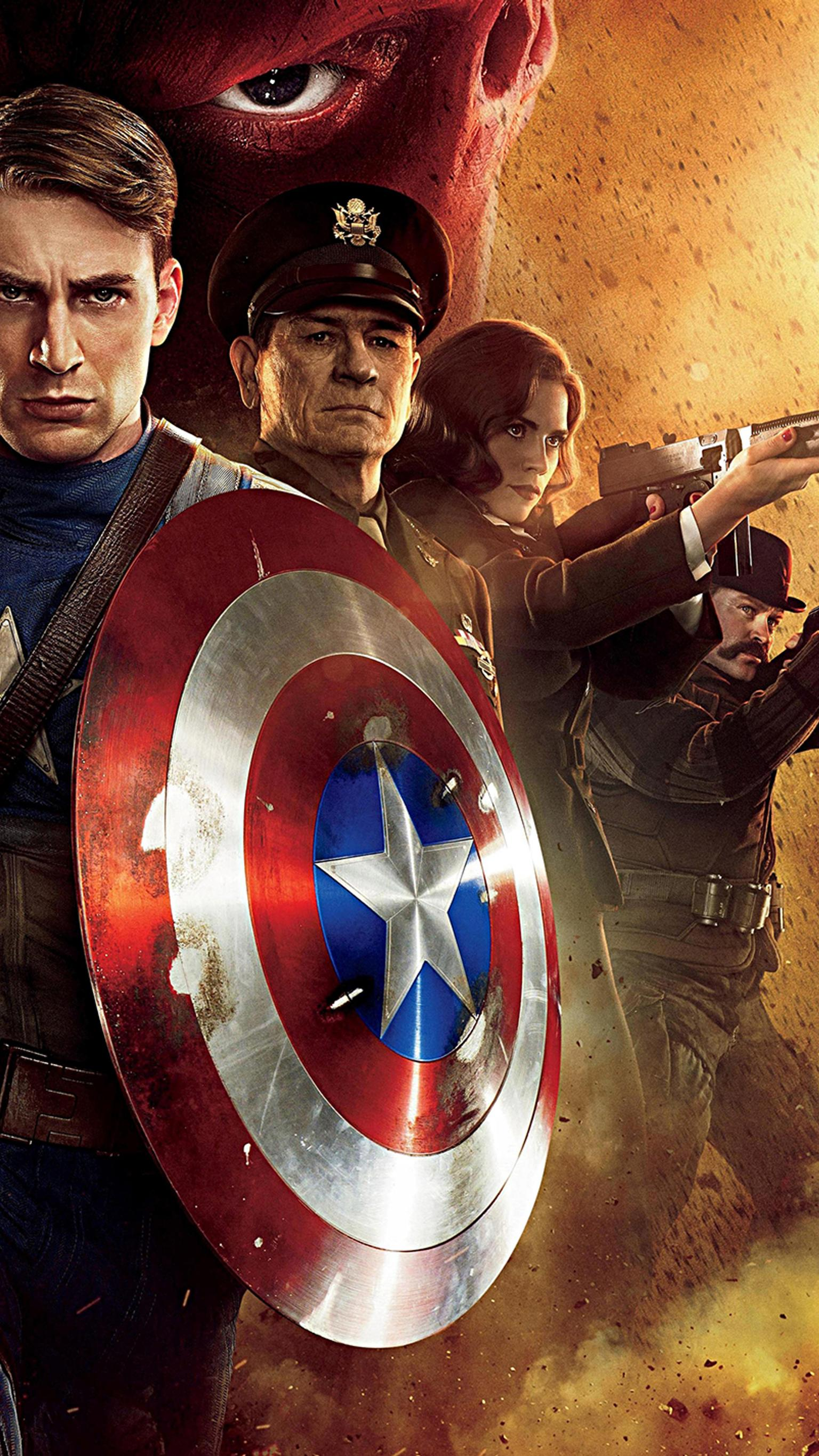 Free Download Captain America The First Avenger 2011 Phone Wallpaper Moviemania 1536x2732 For Your Desktop Mobile Tablet Explore 34 Captain America The First Avenger Wallpapers Captain America The First