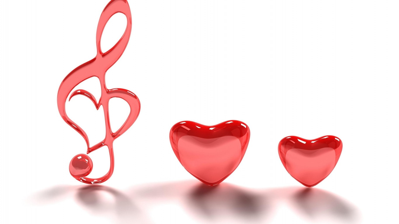 Wallpaper Backgrounds Cute Heart and Love Wallpapers with Different 1366x768
