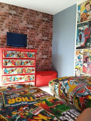 50 Marvel Wallpaper For Boy Room On Wallpapersafari