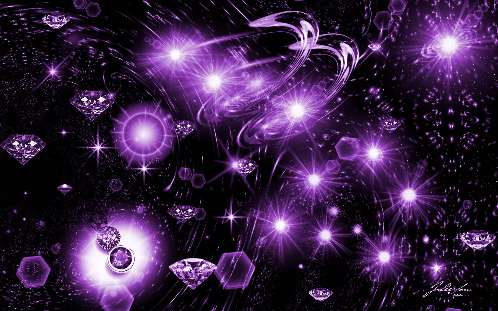 73 Purple And Black Wallpaper On Wallpapersafari