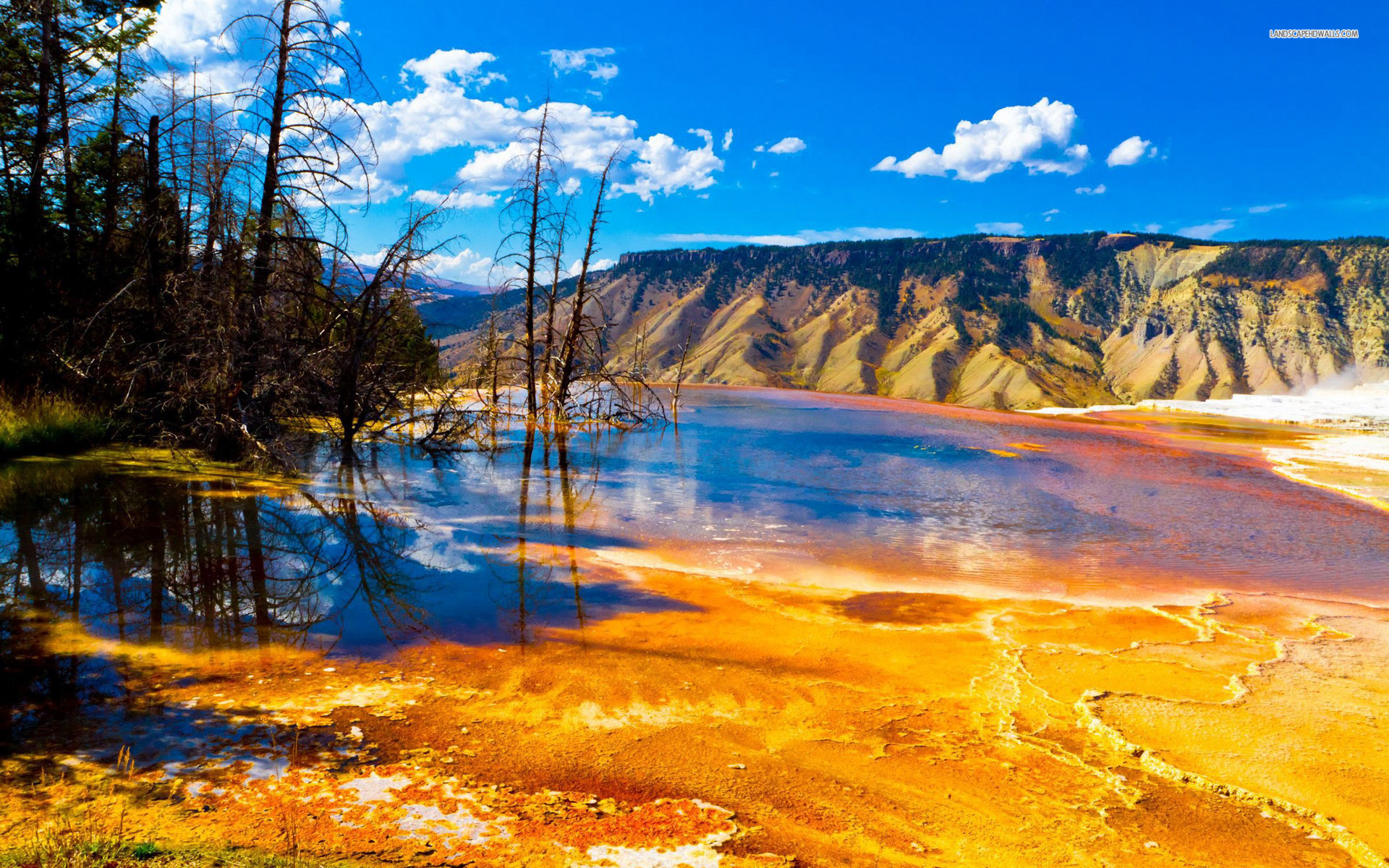 national park wallpapers 49571 nature yellowstone national park 1920x1200