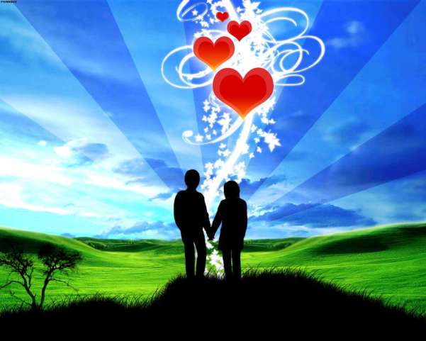 80 Desktop Wallpapers Its All About Love Romance and Heart 601x481