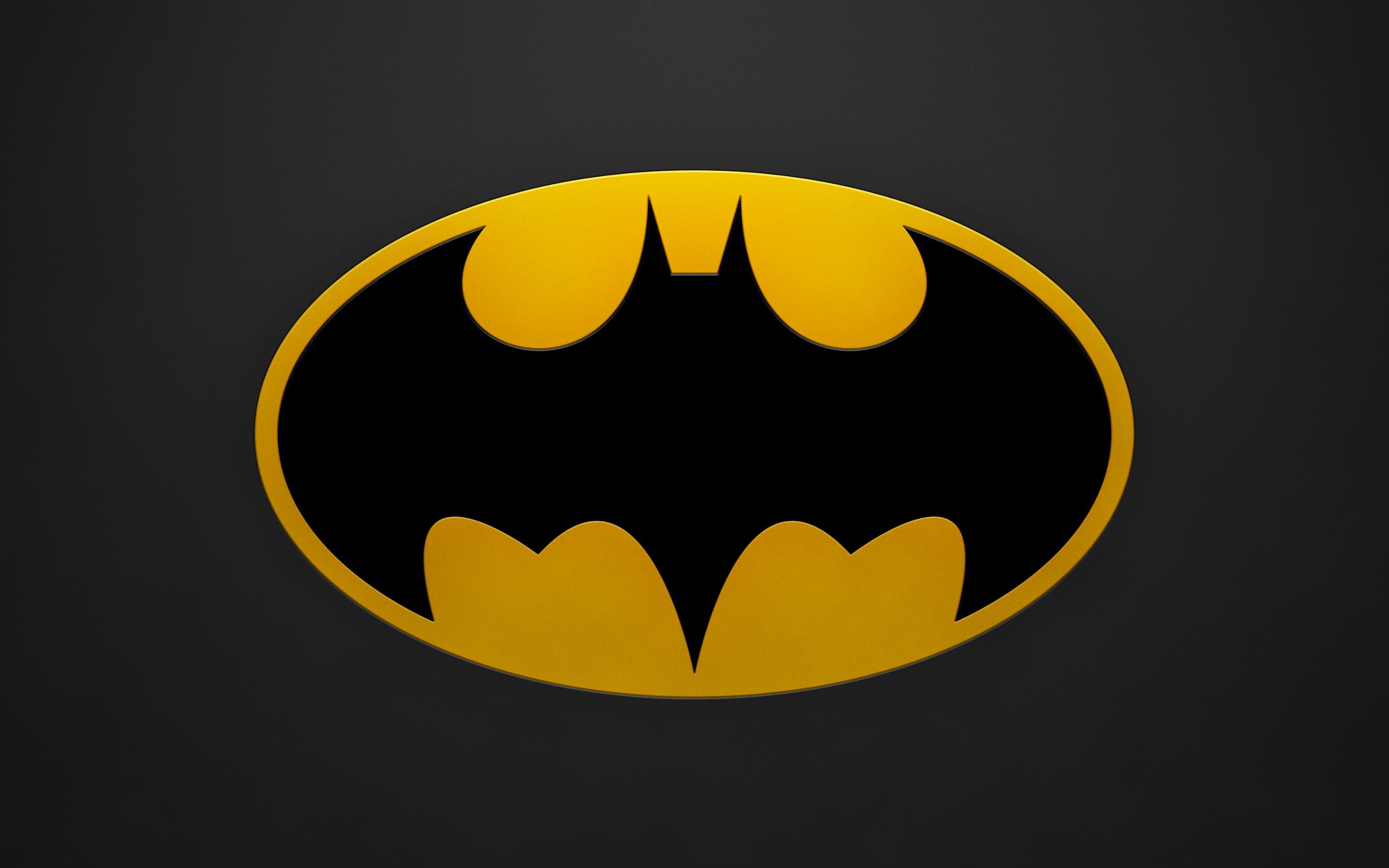Batman Logo Wallpaper Background HD Desktop Wallpapers 2560x1600