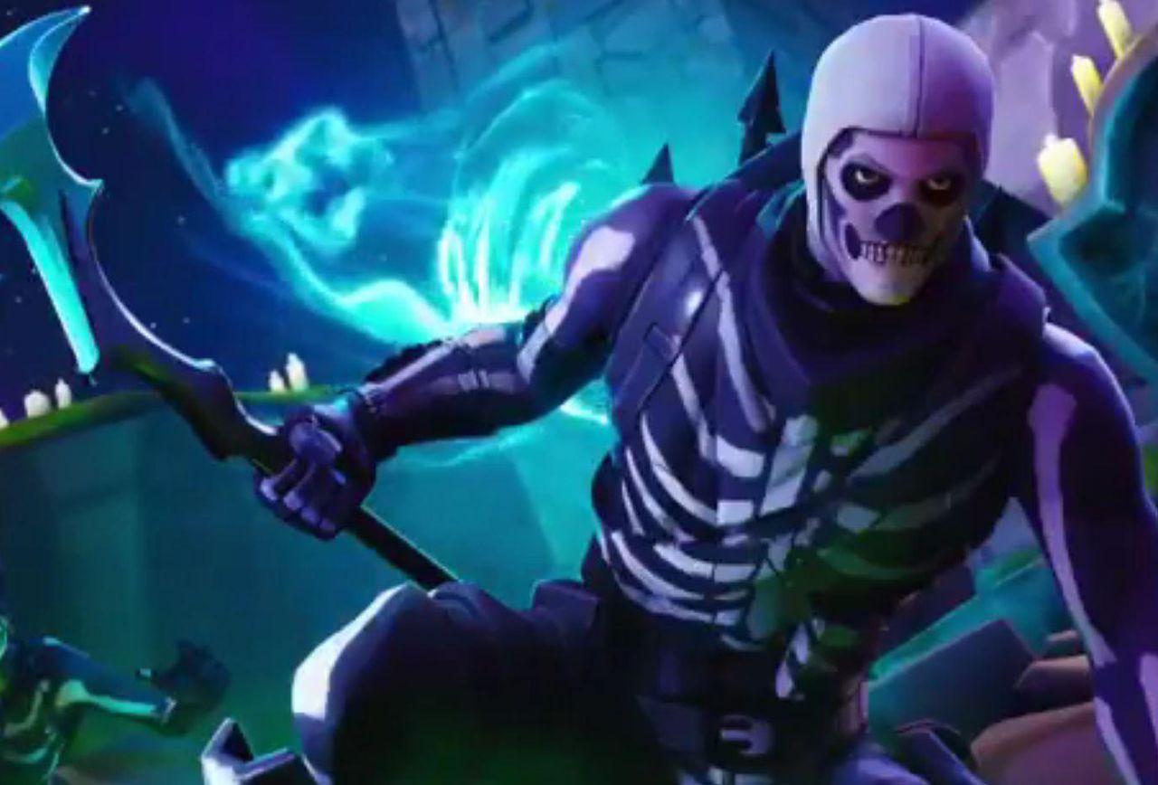 Skull Trooper Wallpaper   Wallpaper Ideas 1280x868