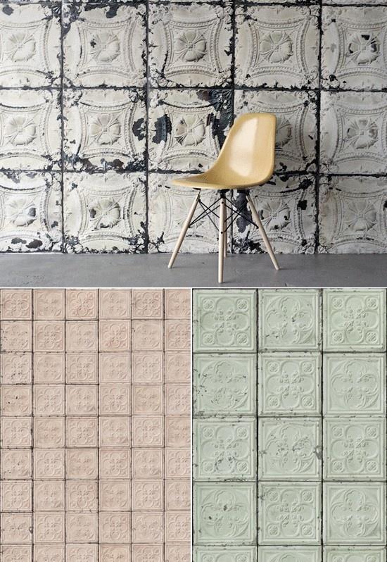 tin tile wallpaper wallpapersafari