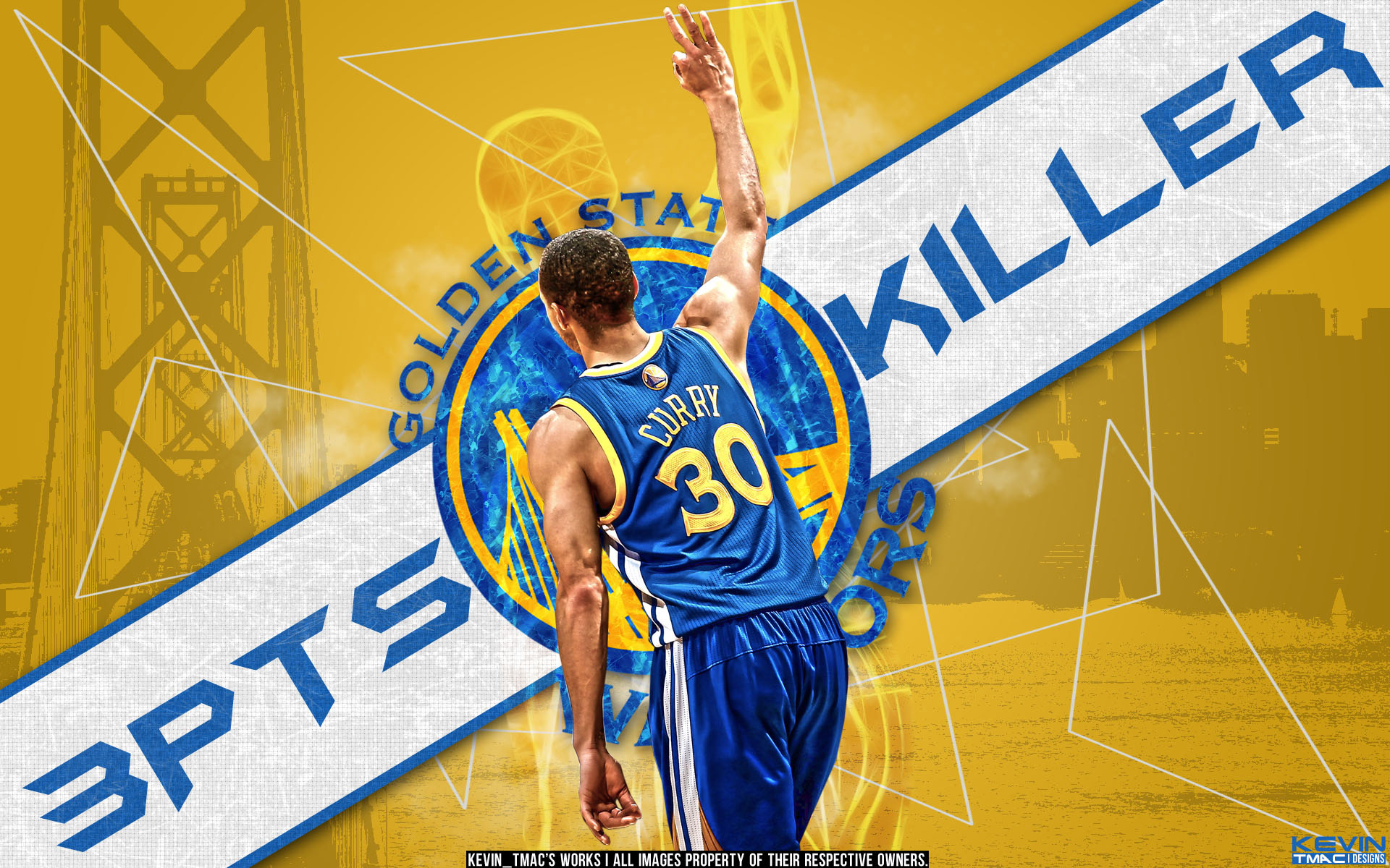 FunMozar Stephen Curry Splash Wallpaper 1920x1200