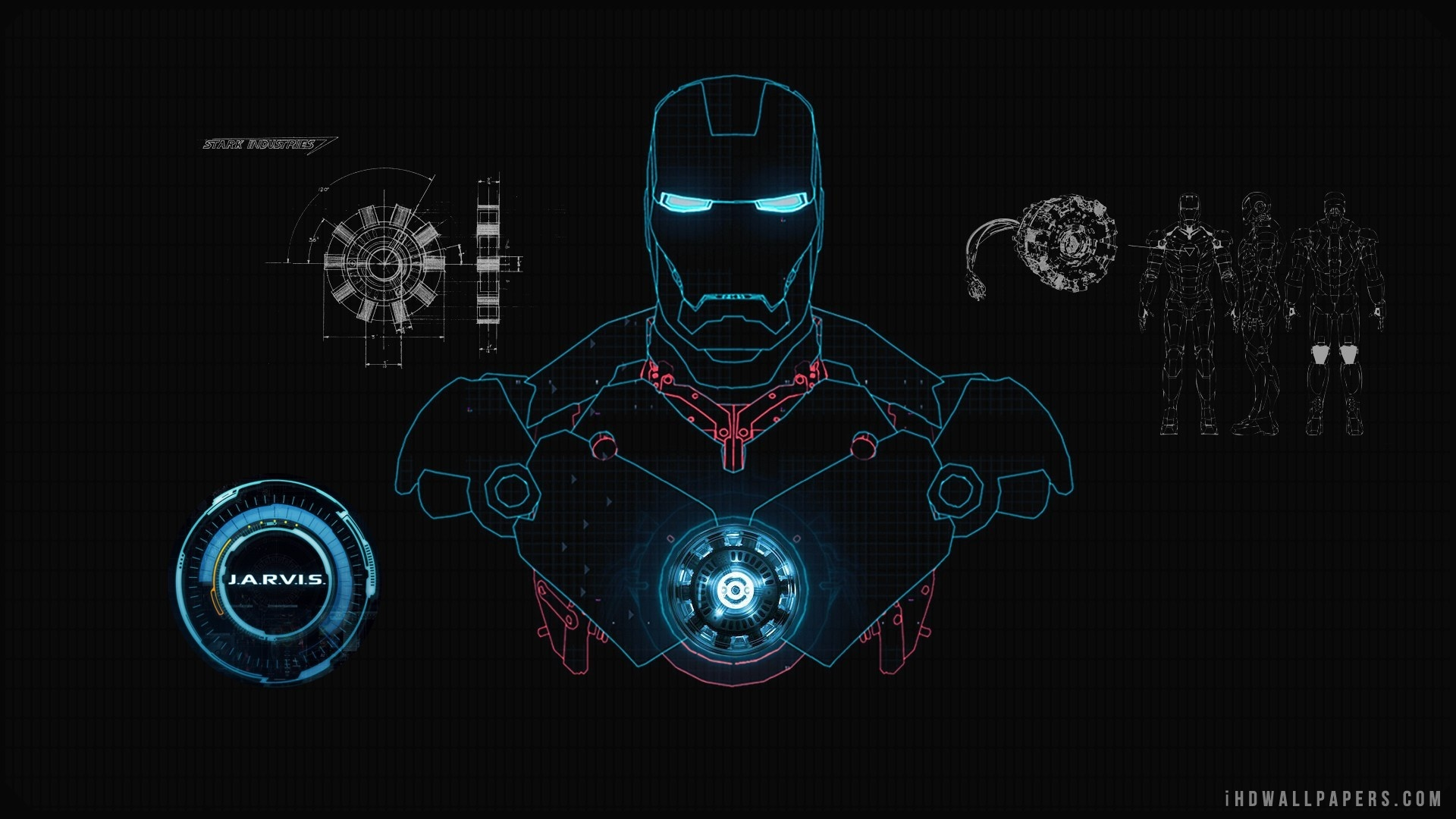 [47+] Jarvis Iron Man Wallpaper HD on WallpaperSafari