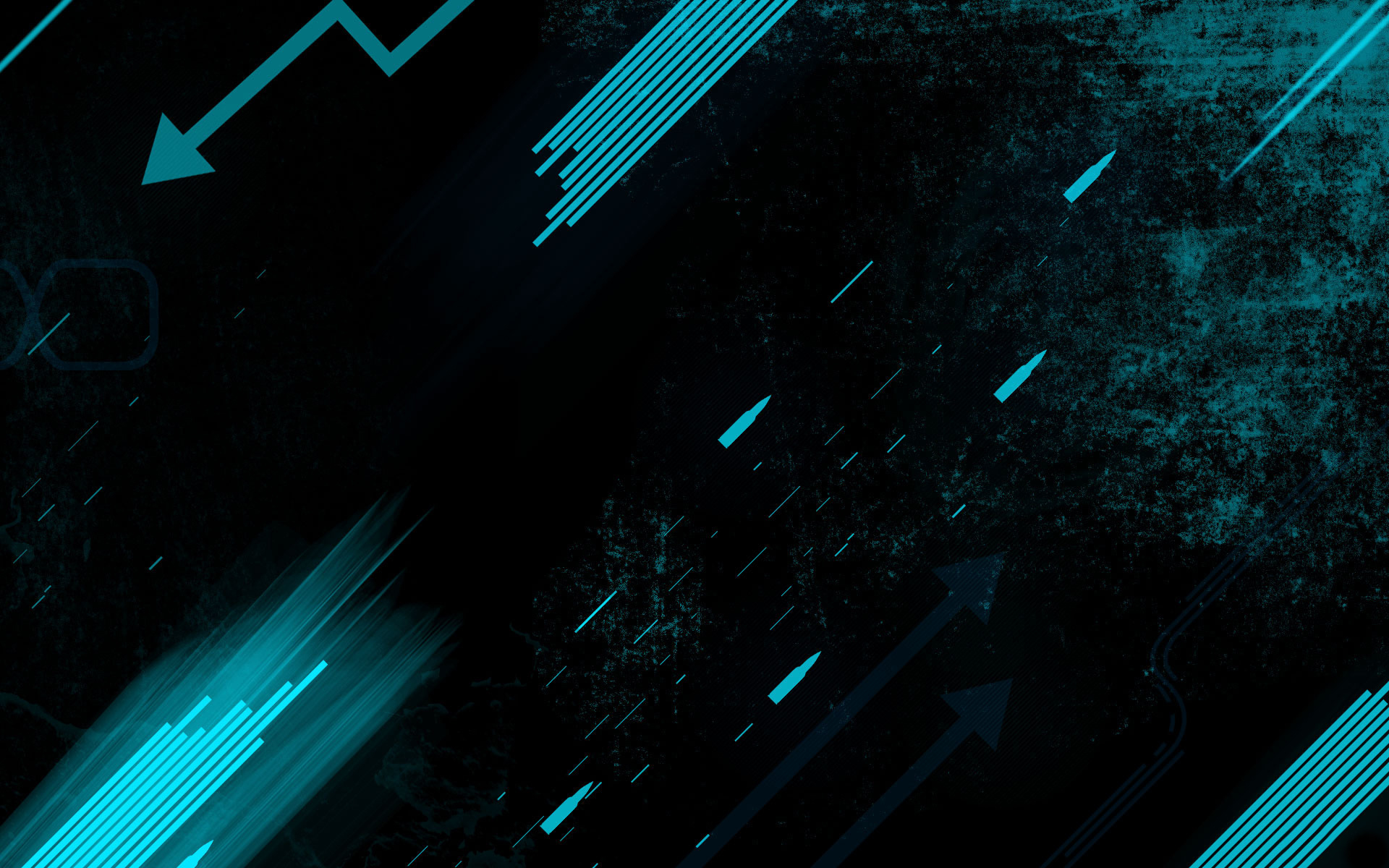 Turquoise Black HD Wallpapers Backgrounds 1920x1200