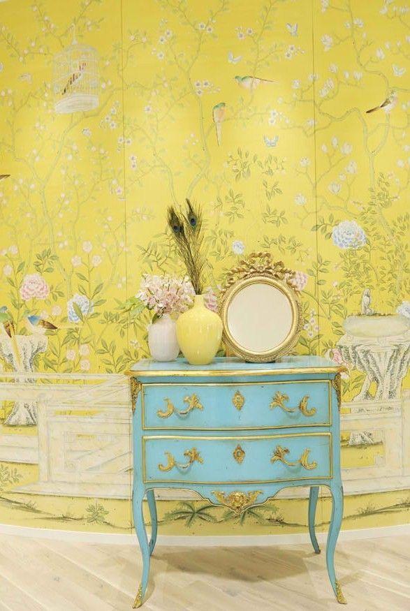 Chinoiserie Wallpaper 587x875