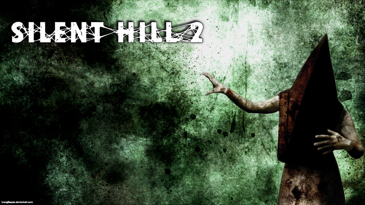 Free Download Silent Hill 2 Pyramid Head Simple Wallpaper By