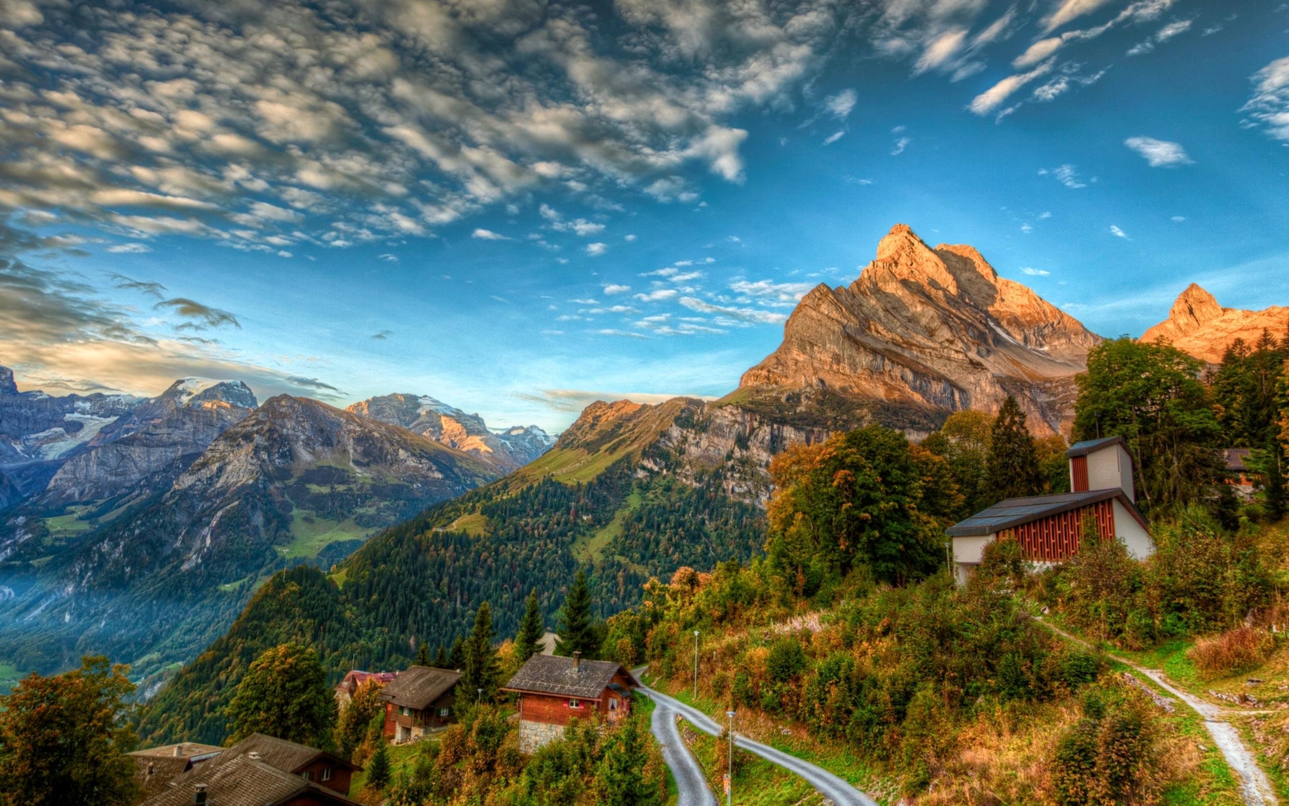 Swiss Alps Wallpaper - WallpaperSafari